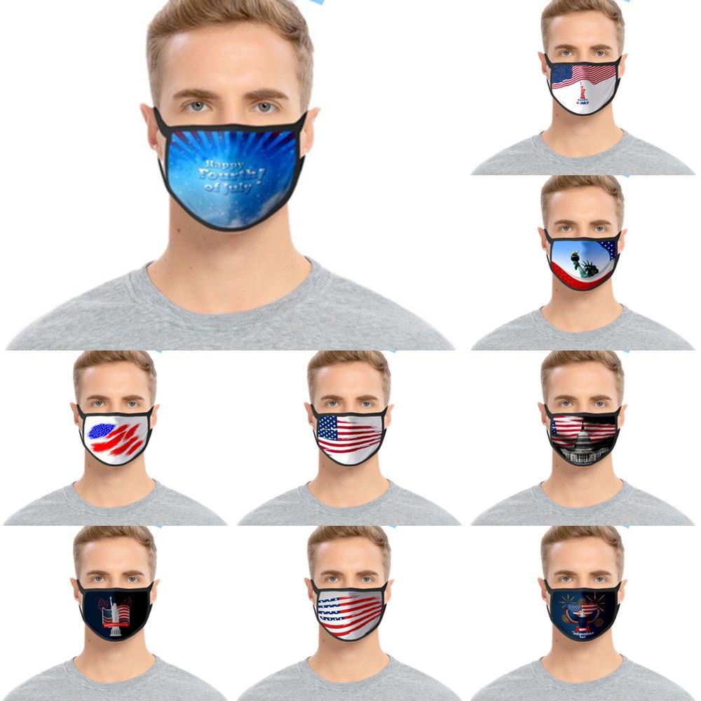 Lavable Mode Imprimé 3d Cartoon Designer Masques coton bouche PM2,5 et antipoussière U4s0