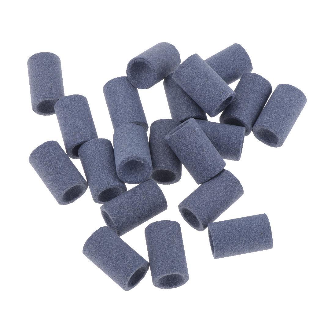 20Pieces Round Professional Dart Sharpener Dart Accessories Sand Stone for Steel Tip Point Needle Darts Sharpening