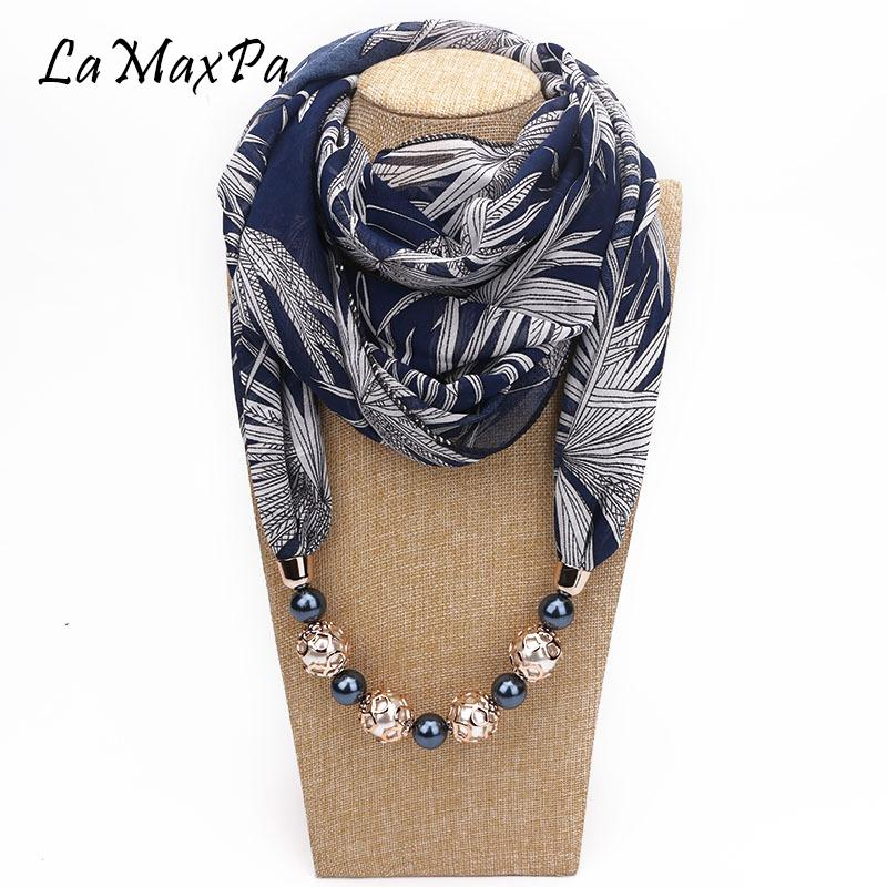 Bandanas Lamaxpa Mode Frauen Anhänger Schal Ring Weiblich Favorit Edle Schmuck Mujer Bufanda Femme Schal