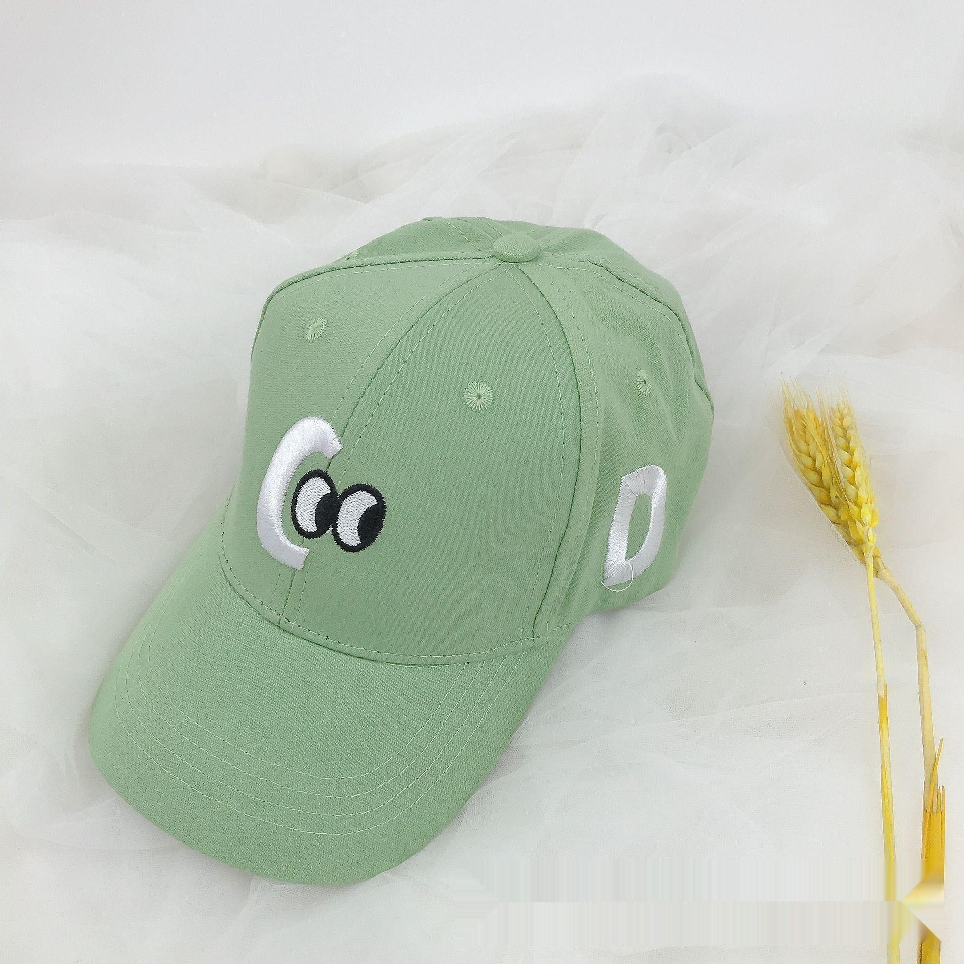 boysletter p2MEe 20 novos infantil bordado Protetor solar capBaseball boné de beisebol capcap girlsbaby chapéu protetor solar fina