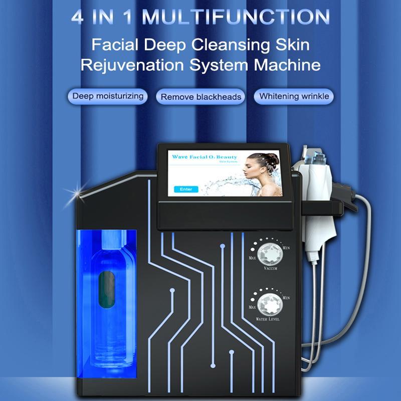 la machine hydra machine à diamant hydraulique profonde oxygène peau du visage Aqua eau Jet Peel Spa machine hydra visage soins de la peau