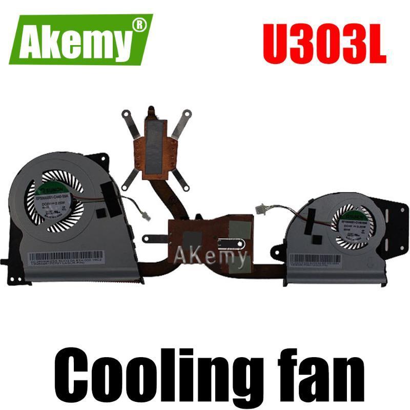 Fans & Coolings Original CPU Cooling Heatsink Fan For Asus U303L UX303L UX303LN UX303LA U303LA U303LN VGA Cooler