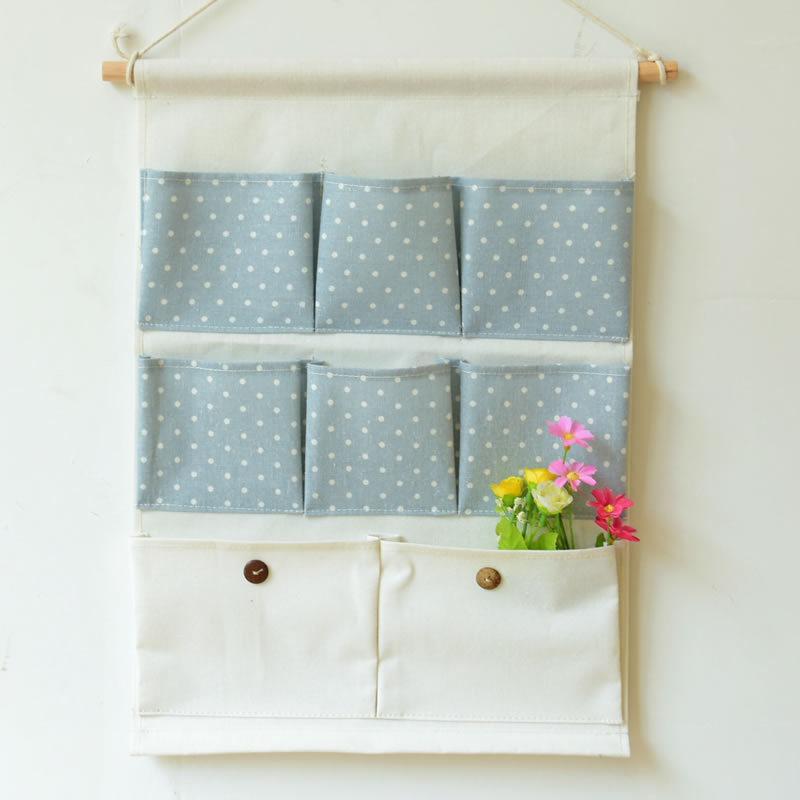 قماش المنزل 8 جيب الجدار شنقا ل التخزين الشنق حقيبة حقيبة باب المنزل كيس نوم جديدة نسيج الديكور
