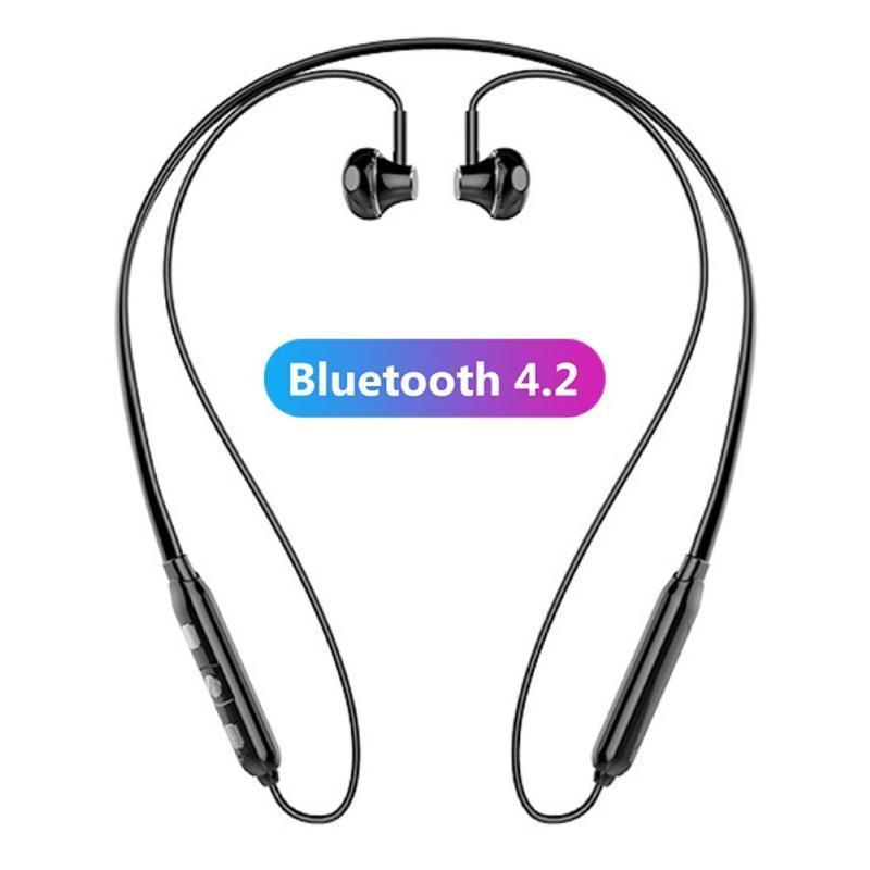 Sports magnética Neck Band Wireless Bluetooth fone de ouvido fone de ouvido estéreo