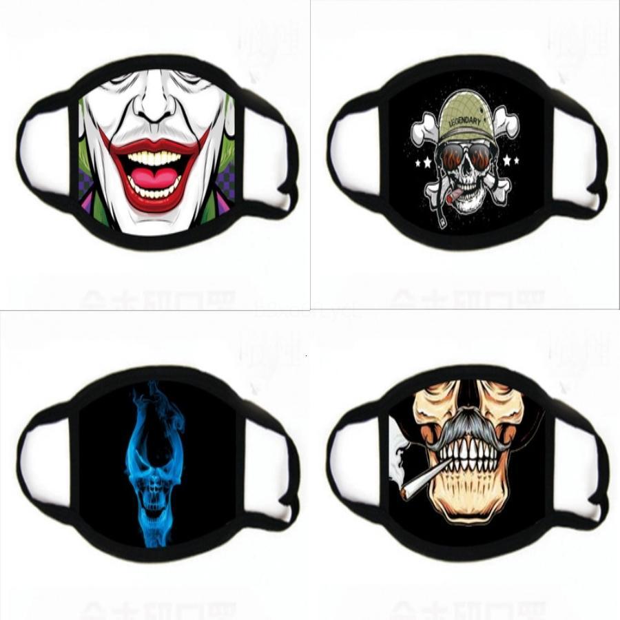Wasale Dener Maskeler Maske Renkli Yetişkin Fa Er Koruyucu Baskı Maskeler # 273