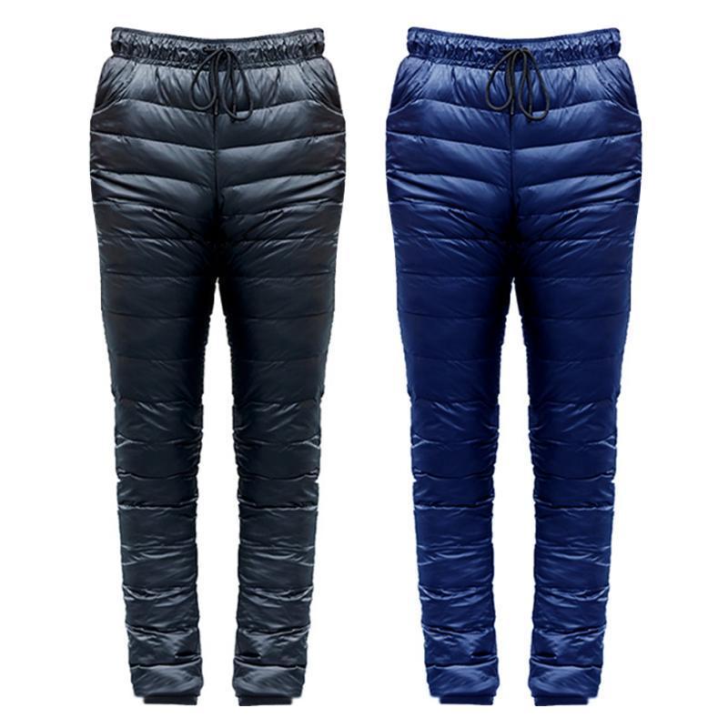 Açık Aşağı Pantolon Kayak Kamp Yürüyüş Rüzgar Geçirmez Aşağı Alt Pantolon Kayak Kış Erkekler için Sıcak Pantolon Boyutu S-5XL