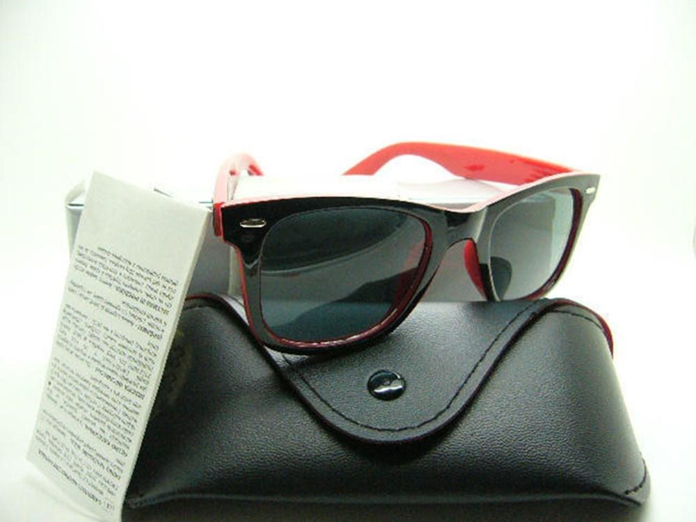 1шт Модные солнцезащитные очки очки солнцезащитные очки Дизайнерские Брайна женщин людей Случаи черный металлический каркас Темные линзы 50 мм для