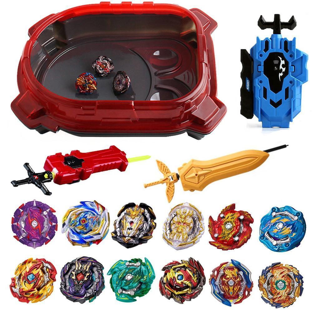 Children Set Metal Stadium Spinning Bayblade Metal For Toy Gifts Hot Bey Child Arena Top Y200109 Fight Beyblade Classic Blade bbygW
