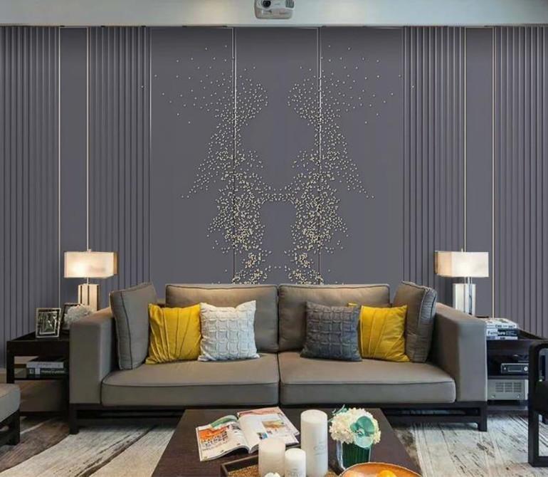 Costumbre fondo de pantalla 3d mural fotográfico de cuero suave bolsa minimalista abstracto moderno dormitorio mural de papel pintado de la sala de estar 3d
