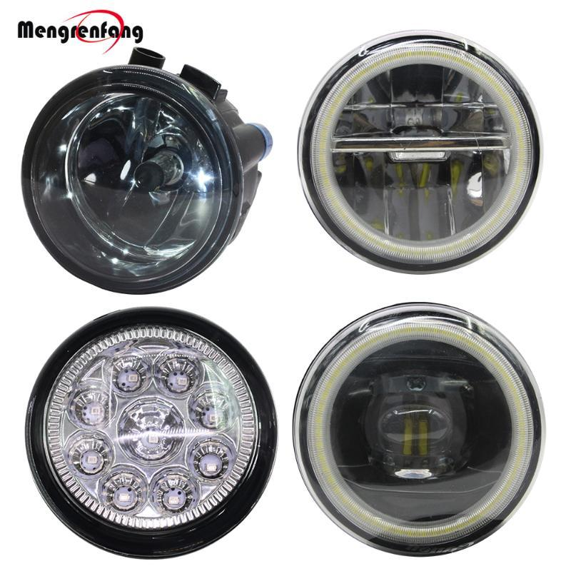 Araç Sis lambası Melek Göz DRL 12V için Lafesta Versa Rogue Küp Juke NV200 Qashqai Tiida X-Trail Not Murano