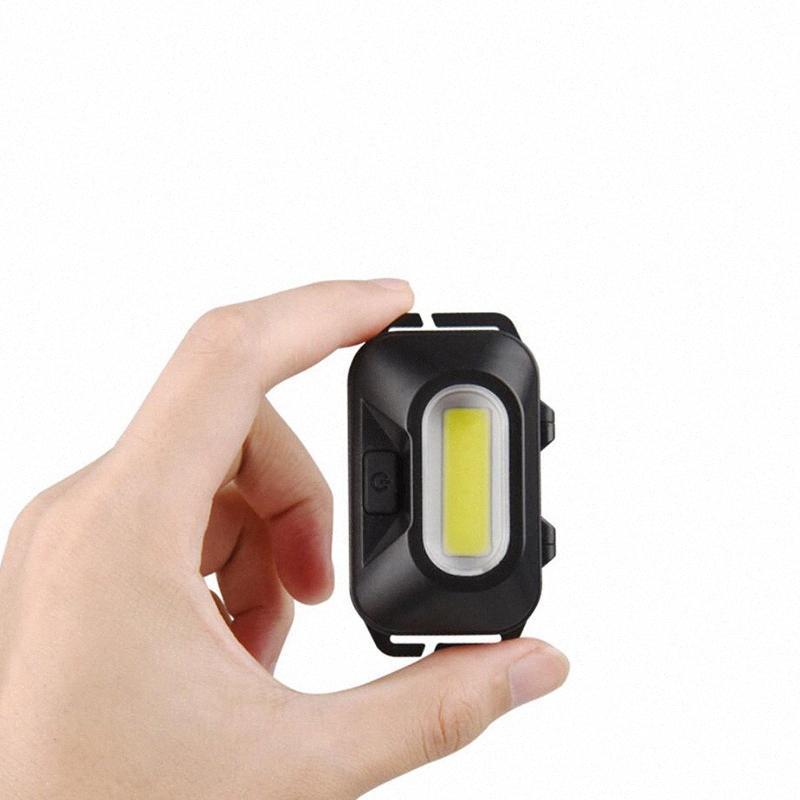 Mini COB LED Headlamp Hoofdlamp Cabeza frontal antorcha Faro Faro de alta potencia Camping Luz de pesca Lámpara Linterna SOCIT #