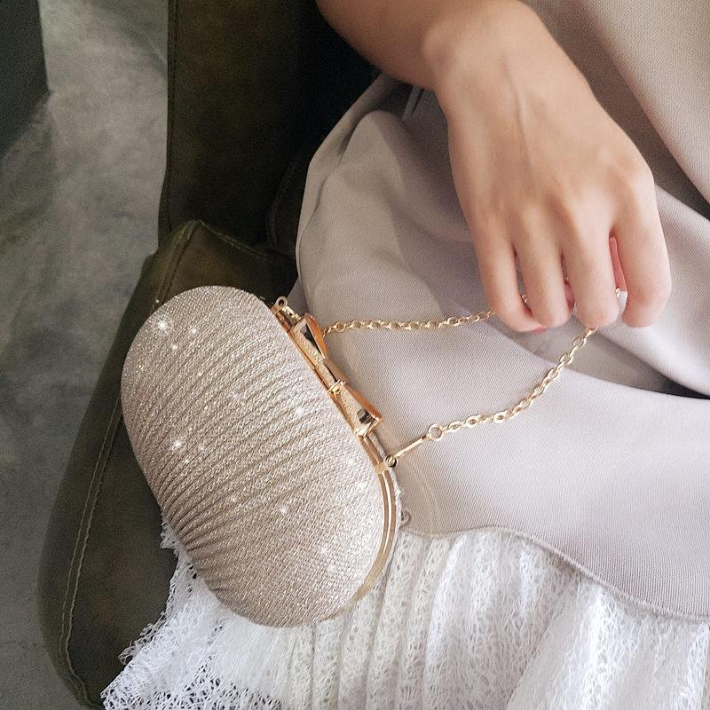 Luxurys Tasarımcılar Çanta Gece Çantası Nefis Küçük Çanta Altın Ziyafet Çanta Debriyaj Elbise Küçük yuvarlak Tek Omuz Crossbody