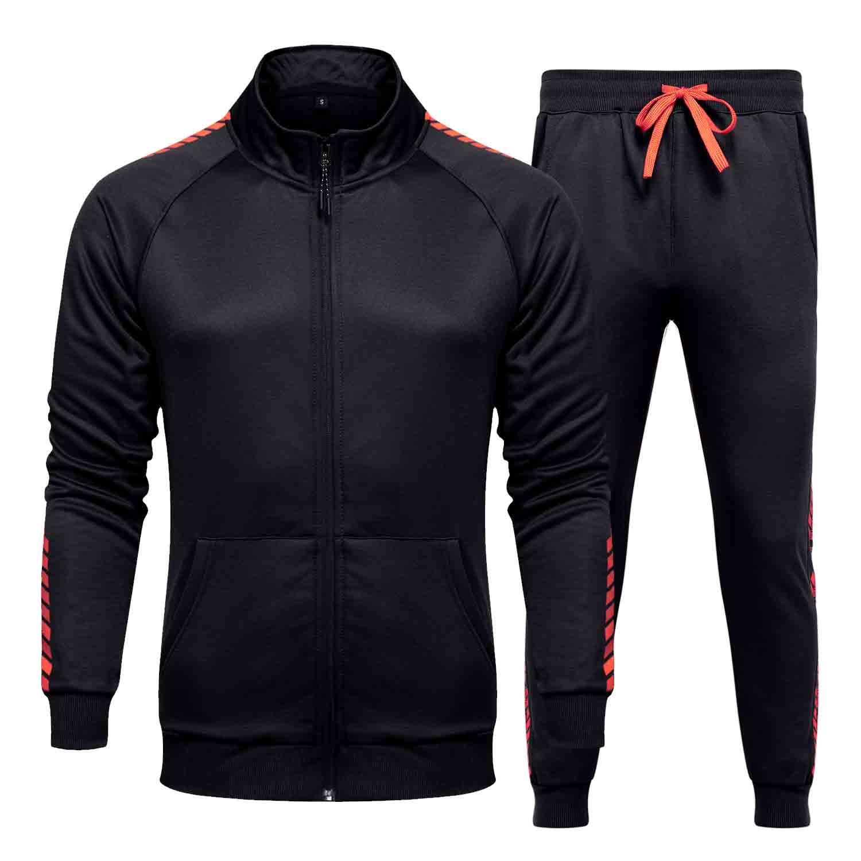 New Men Fatos Outwear Hoodies Esportes Suit Sets Masculino Moletons Two Pieces Suit Roupa Moda respirável For Men