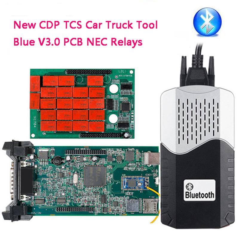 New ds150e Cars Trucks CDP TCS Pro Plus Bluetooth Keygen Software OBDII Code Reader Auto Diagnostic Tool OBD2 Scanner