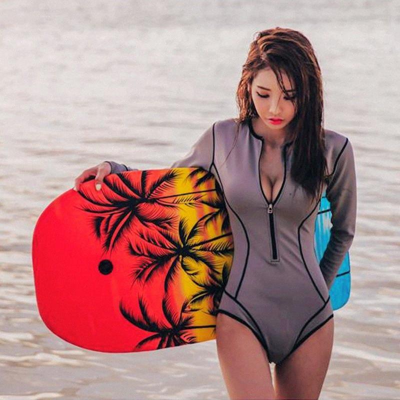 Женщины Купальники Sexy Серфинг костюм Спорт Плавание Купальники гидрокостюме Кусок воды Surf плавать Anti UV Быстросохнущий Анти медузы UJxa #