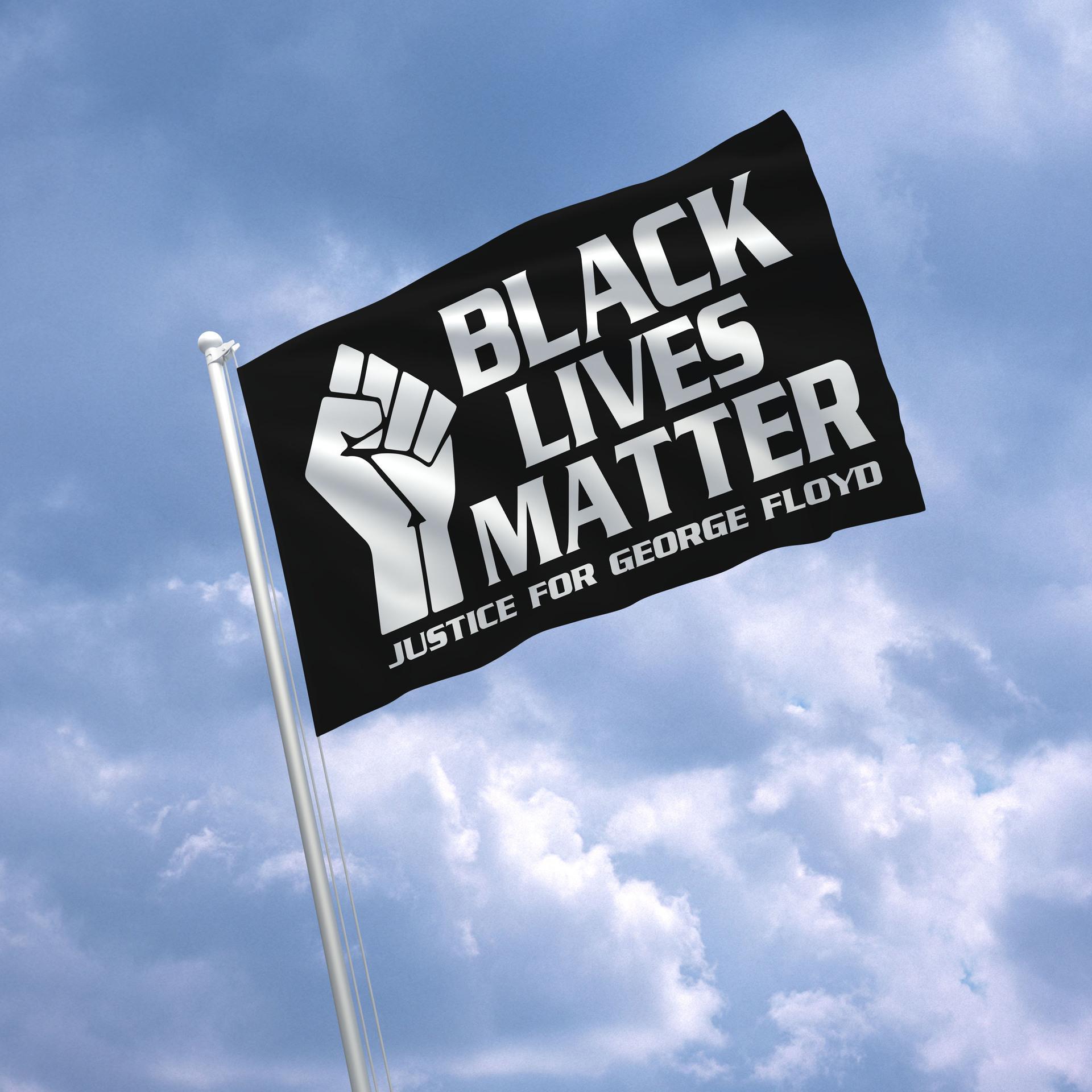 150 * 90cm Ben Parade Banner Bayrak Siyah Hayatlar Matter George Floyd Amerikan Parade Bayraklar Siyah Protesto Banner RRA3220 Breathe Can not
