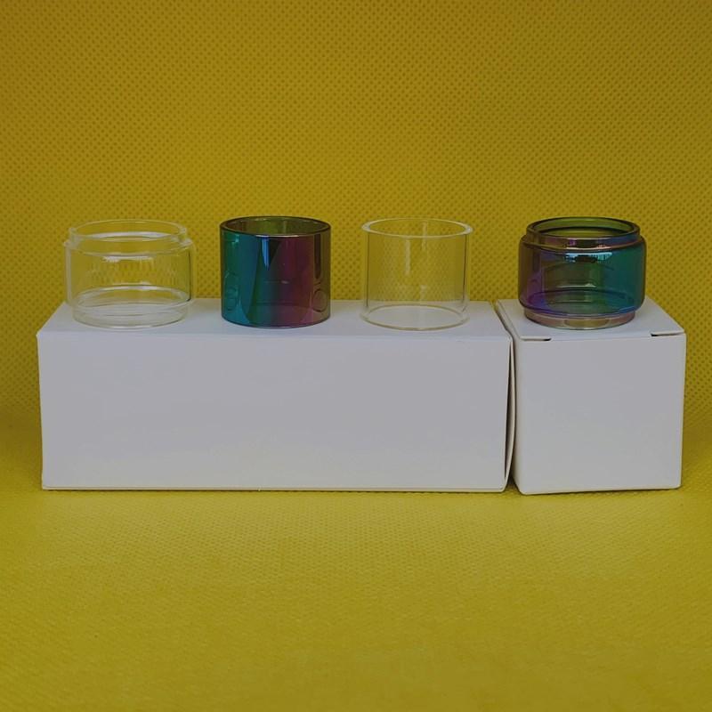 Atpire Atlantis Mega 5ml Clear Normal Tube de verre Normal Remplacement 1PC / Box 3PCS / BOX 10PCS / BOX Paquet de vente au détail