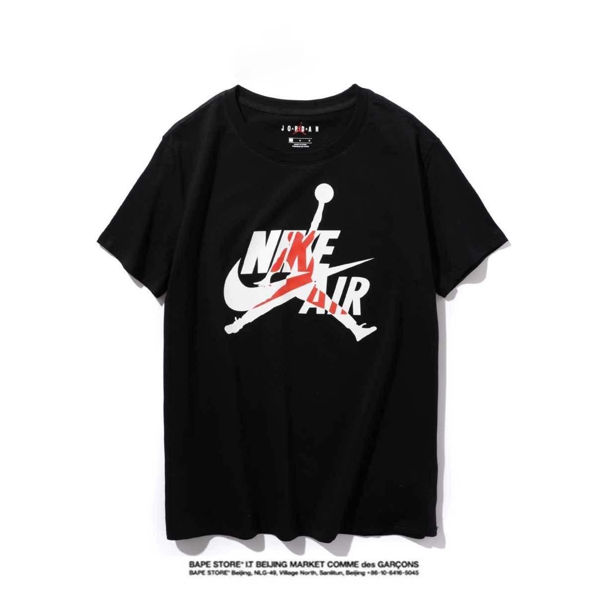 Jordan Hohe Qualität Neuer Brief Printing Short Sleeve Mode Aufmaß Cotton Hip Hop-Männer Frauen Paar Designer-T-Shirt S-XXL # 99788