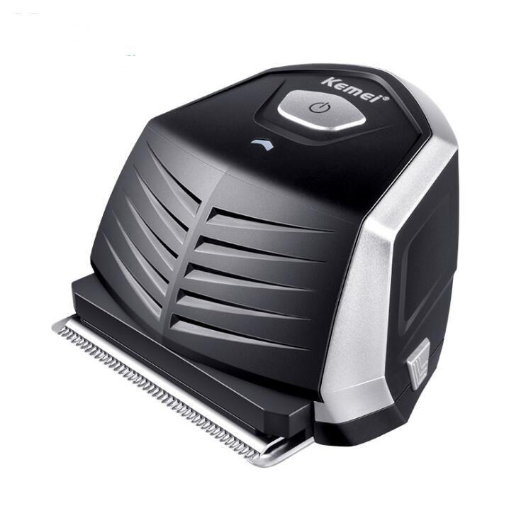 EPACK Kemei KM-6032 Tondeuse à cheveux Tondeuse électrique DIY Cutter professionnel pour hommes rasoir barbe sans fil Machine de découpe 9 Parage peigne