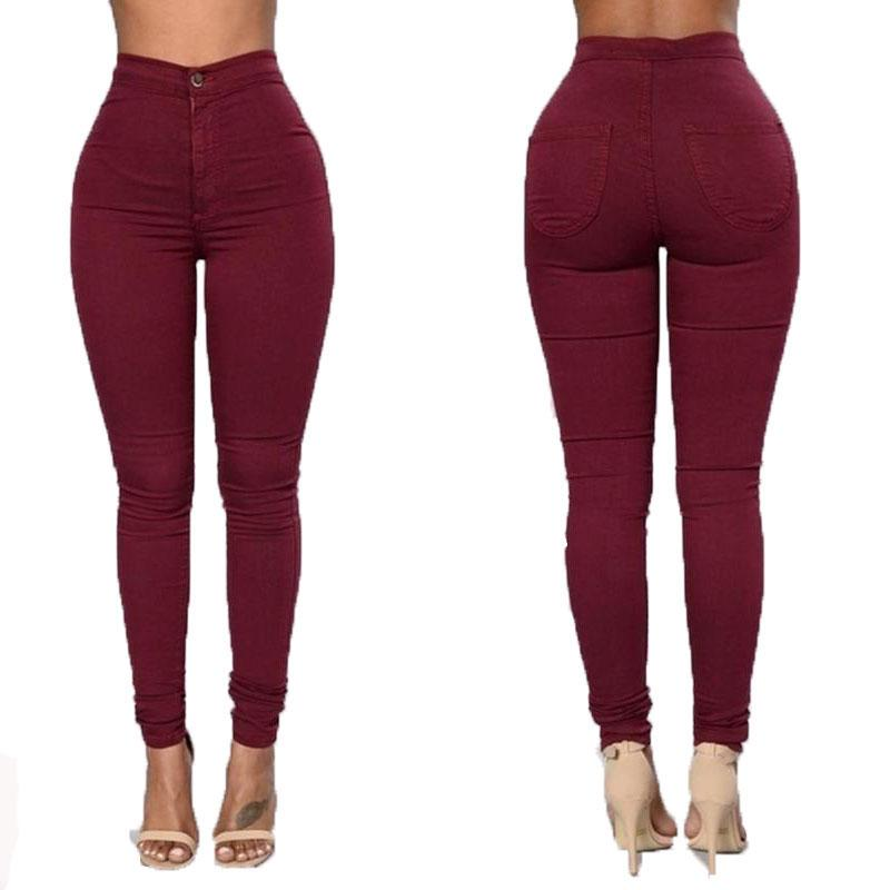 New Fashion Sexy women high-waisted fashion pencil pants trousers female joggers casual pants free shipping