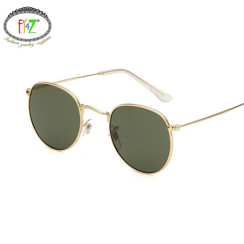 F.J4Z Yeni Sıcak Bayanlar Marka Tasarım Güneş Moda Göz İyi Kalite Hafif Metal Shades Gözlük İçin Kadınlar Outdoor Wear Soğuk