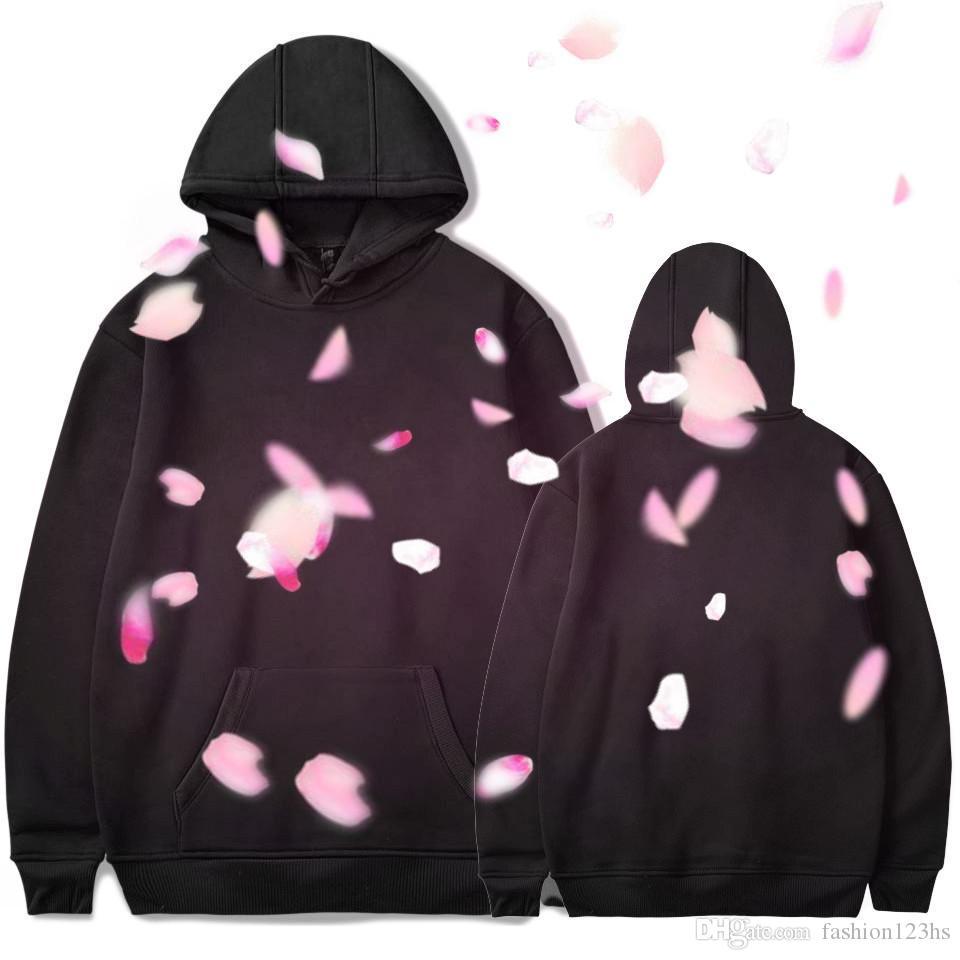 NUEVA moda 3D sudaderas para el otoño y el invierno nueva IV de la mujer de la manera imprimió el suéter de manga larga con capucha de terciopelo