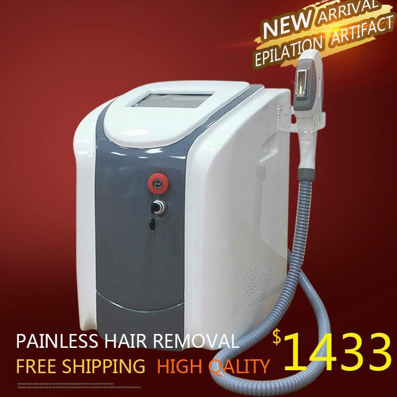 Новый дизайн Мощный Лазерная эпиляция Безболезненное Ipl Opt Shr волос Уменьшить Омоложение кожи Лечение машины