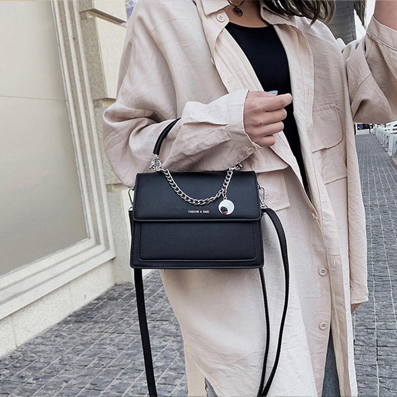 Nuovo Flap Borse Totes femminile del progettista dell'unità di elaborazione borse a spalla in pelle per le donne 2020 casuali Vintage Crossbody Messenger Bag Lady