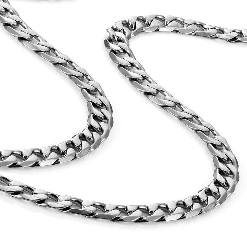 Цепи ожерелья мужские из нержавеющей стали моды Figaro ожерелье стимпанк длинное ожерелье стали украшения для шеи подарков для мужчины