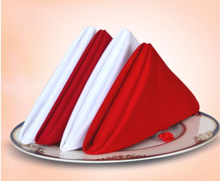 Este enlace es para la tabla del boda personalizada servilletas en diferentes colores y tamaños y materiales ZJ55