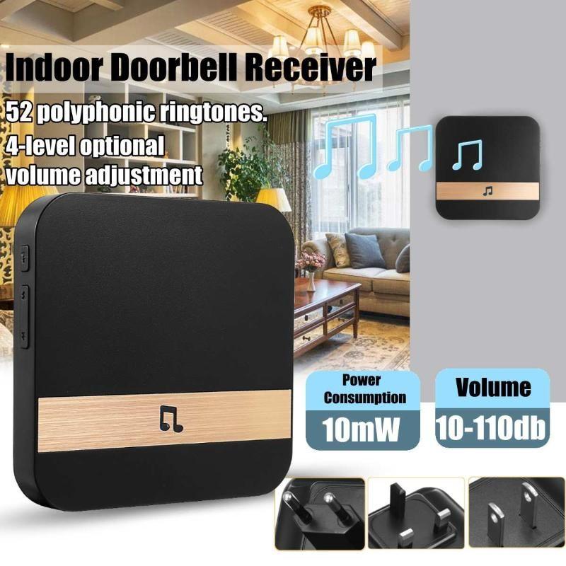 Главная Добро пожаловать Дверной Интеллектуальный плагин Chime Визуальный Дверной звонок с Wi-Fi Wireless App голосовыми подсказками посетителей Водонепроницаемые