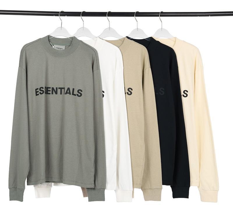 20fw Avant 3D Silicon Logo Tee Skateboard Cool T-shirt Hommes Femmes Coton à manches longues Casual Streetwear Tshirt