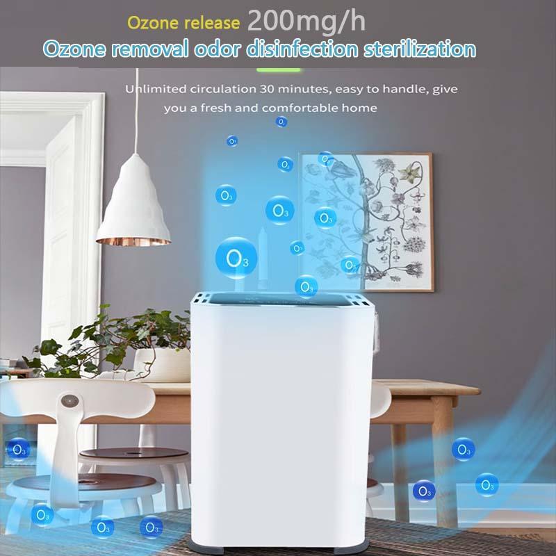 Purificador de aire portátil, la purificación del ozono del generador, el anión del ambientador de aire, filtro de desodorización ionizador evitar que los gérmenes de Polvo