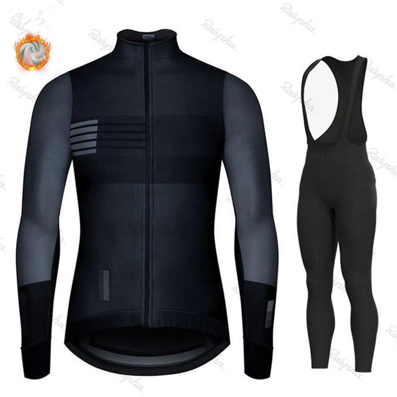 2020 Inverno Caldo Lana Ciclismo Completo, Uomini Ciclismo Completo, all'aperto Abbigliamento sportivo, Uniforme MTB Bike Bike Kit Triathlon Gobikeful