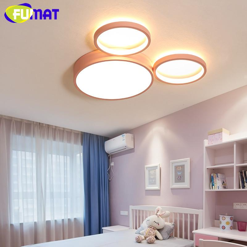 Modern LED Ceiling Light Childrens Room Led Ceiling Lamp Boy Girl Bedroom Led Luminaire Protection Hanging Lamp Kitchen Fixtures