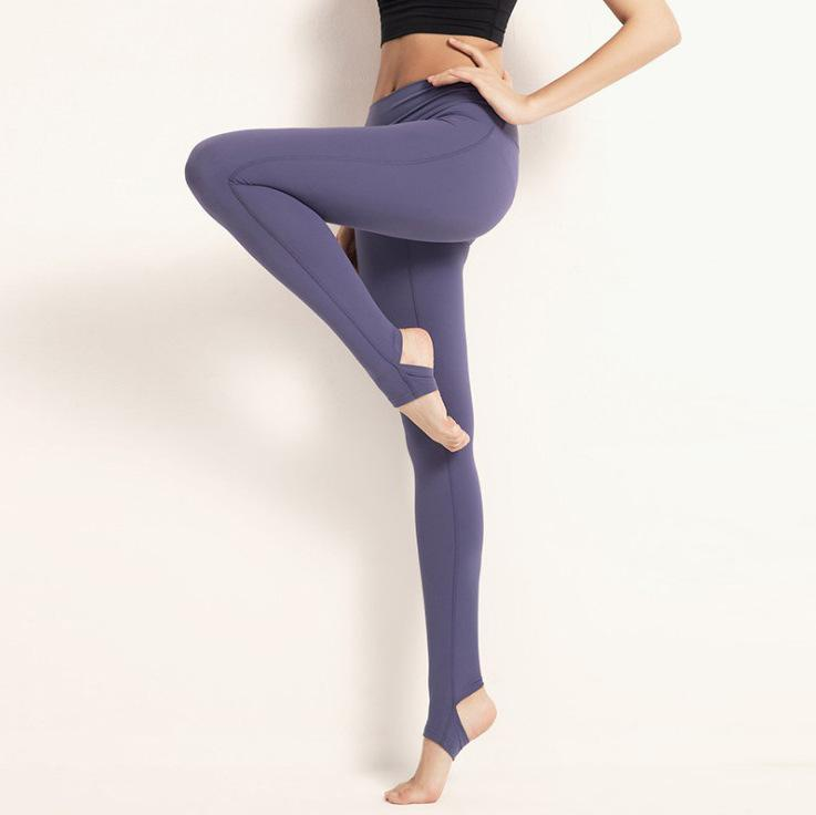 YOGAWORLD Leggings High-End-Schritt-Yoga-Hosen weibliche elastische Fitness mit hoher Taille-Hose Frauen-Leggings sexy Yoga-Hosen-Leggins Wntla