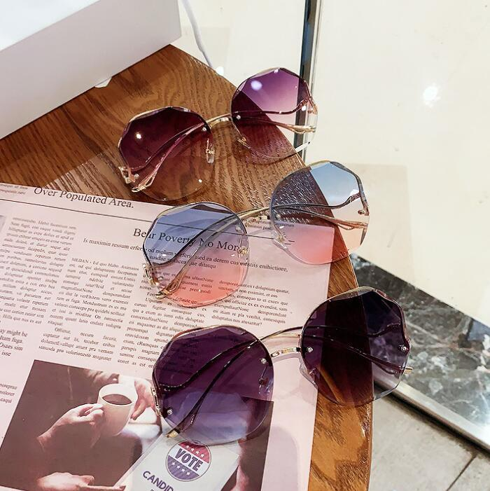 Été en forme de coeur Sunglasee Hommes Jupiter Retro style sport Qualité vintage Sun verre Oculos De Sol Femenino De Sol Gafas