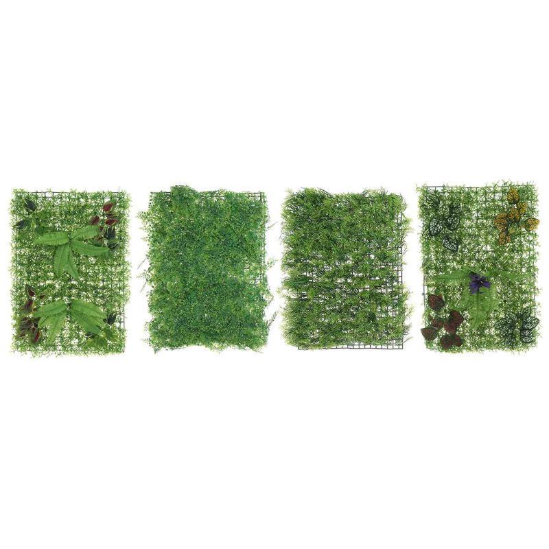 40x60cm Artificial grama gramado plantas Turf Simulação Paisagismo Wall Decor grama gramados Plants Recados Fundo Painel Falso Decor
