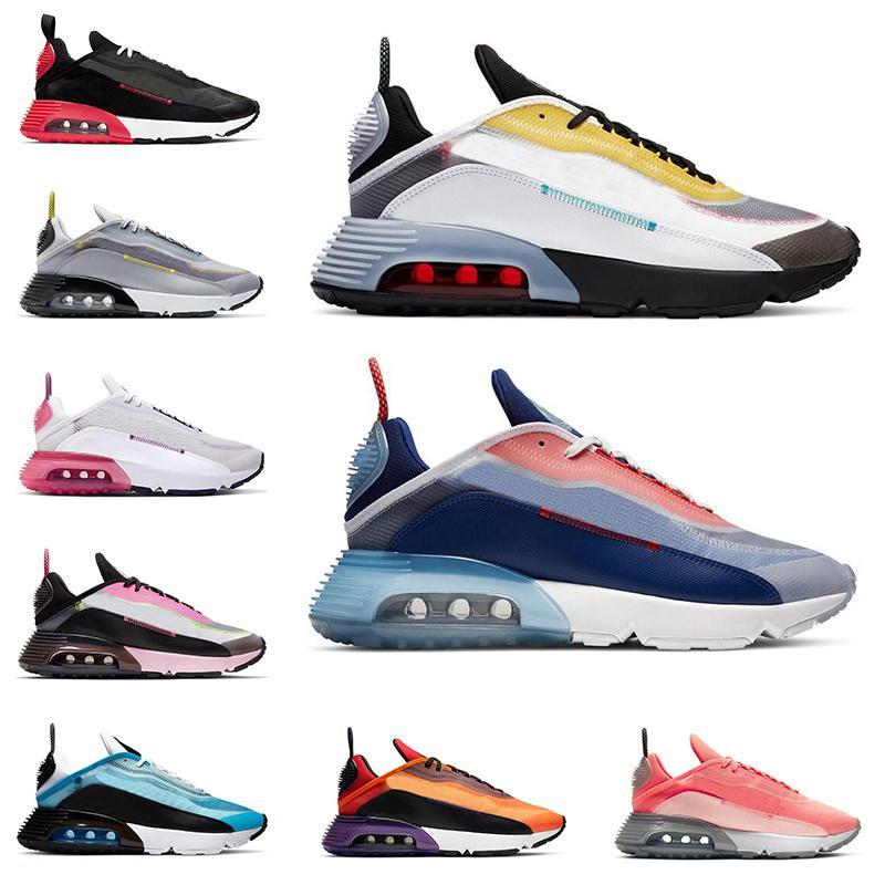 nike air max كن صحيحًا 2090 أحذية الجري للرجال النساء المدربين أنثراسايت بيور بلاتينوم وردي رغوة لافا الوهج فولت الأزرق الرجال العدائين أحذية رياضية رياضية