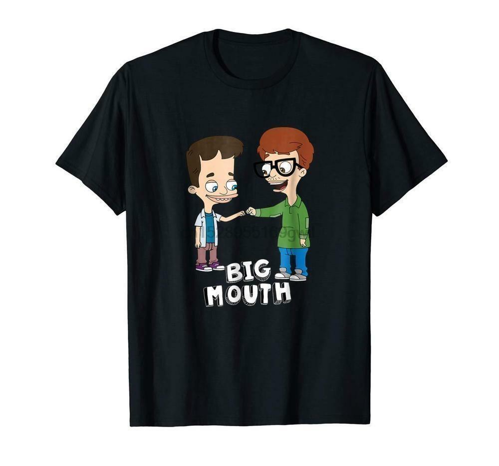 Big Mouth-Faust-Pumpen-lustige T-Shirt Black Cotton Männer S-6XL Made in USA