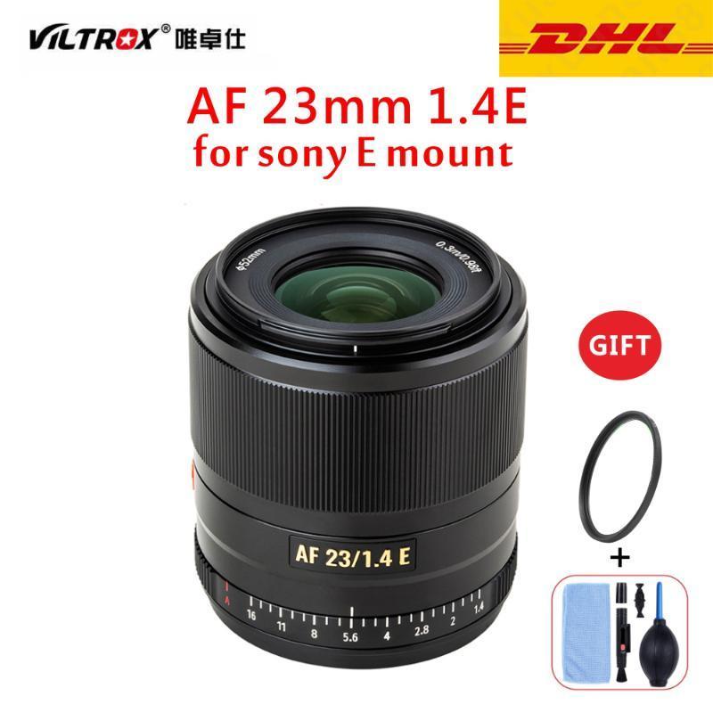 VILTROX 23 milímetros f1.4 lente de foco automático APS-C Compact Grande Lens Aperture para Sony E-mount câmera A6000 A6300 A6600