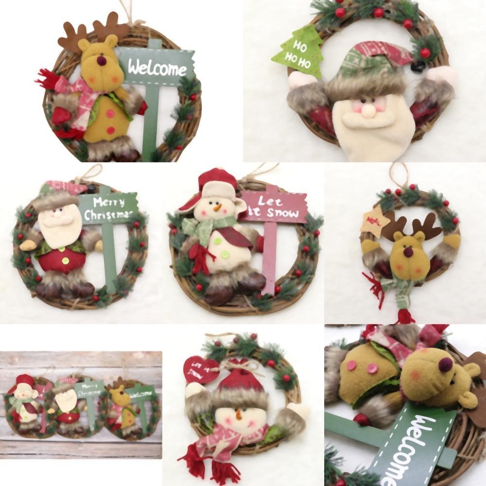 H6mPi Decorazioni per un Ornamenti Ed foto clipart Garland Led Home Nuovi YearChristmas luce di Capodanno decorazione Navidad