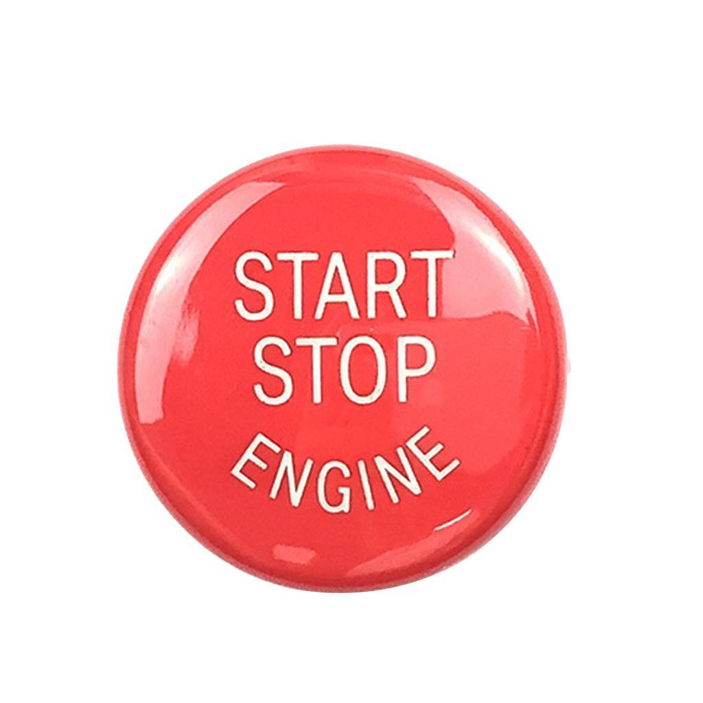 0,98 \ '\' de motor de coche Start Stop botón Ajuste de la cubierta Reemplaza para BMW E Chasis de alta calidad