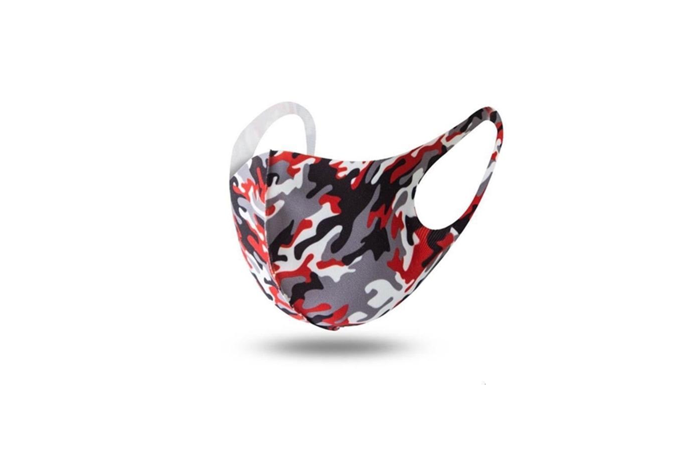 Silk Frauen Dener magischer Schal gedruckte Maske 14 Styles Ciffon Andkercief Außenwindsicher Alf Fa Staubdichtes Sunsade Ma # 696 # 476
