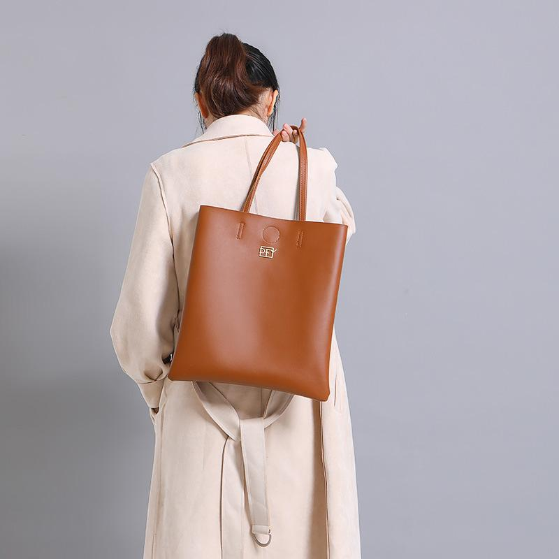 Shopping Pu Women Capacity Large Fashion Young New Bag Forever Hand Simple Bag Portable Tote Crossbody Bpins