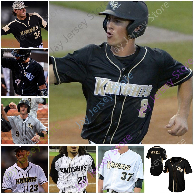 UCF Beyzbol Forması Koleji Dylan Moore Beau Taylor Nick Romano Gephry Pena Rathbone Ben McCabe Dalton Wingo Ruiz Josten Hakanson Holloway