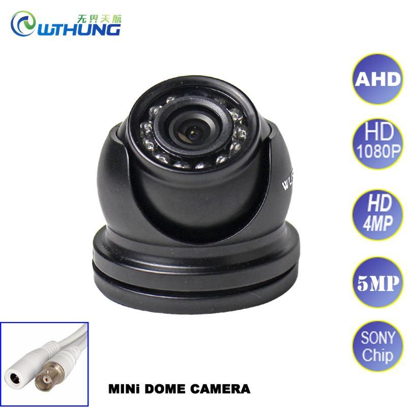1080P 4MP 5MP AHD Camera Analog High Definition Surveillance Infrared SONY CMOS Mini Dome 12 IR led IR Cut Filter Night vision
