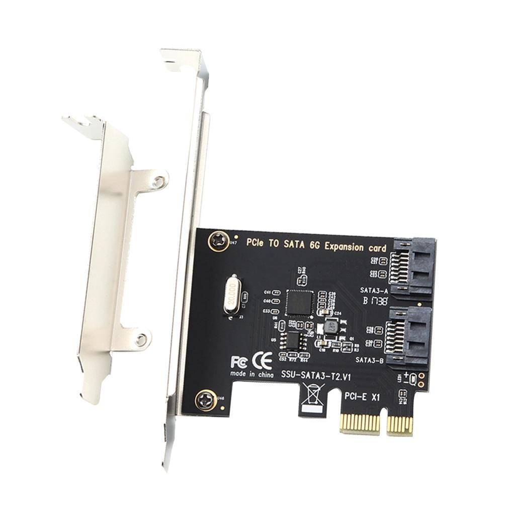 PCI Express a SATA 3.0 Card Controller SATA III 6GB / s Adattatore per desktop