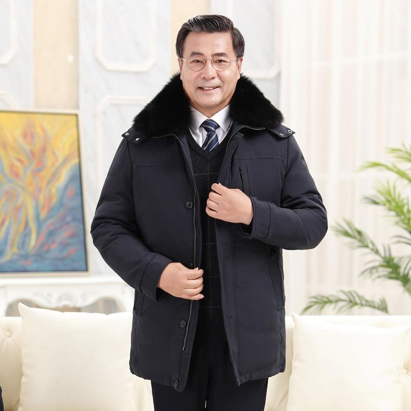 Yuli продукты производитель оптовый средний возраста и летний мужчина долго живущий в лице 867 съемного папе положил пальто
