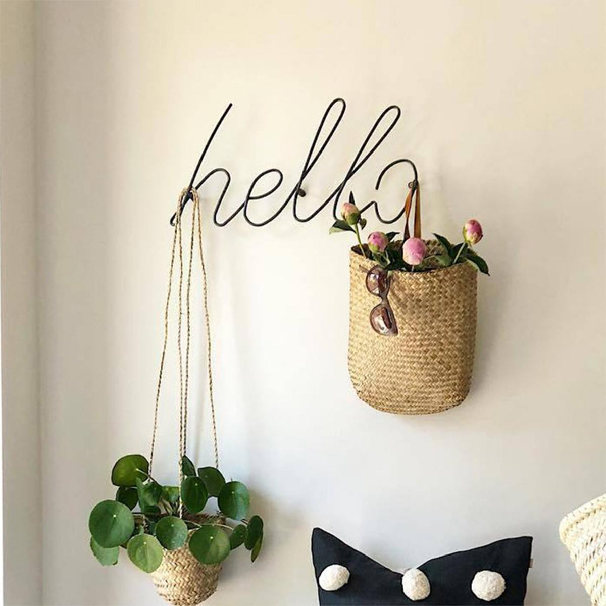 Wire Letters Home Decor Interior Wall Sign Gift Love Happy Kitchen Livingroom Wall Decorative Letters&Numbers 6 Styles Decor